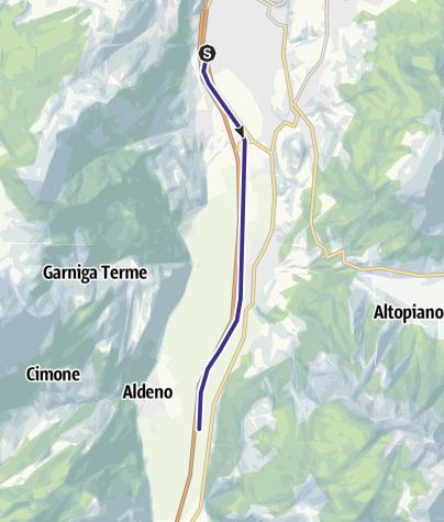 Cartina / Fiume Adige A3