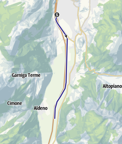 Karte / Fiume Adige A3