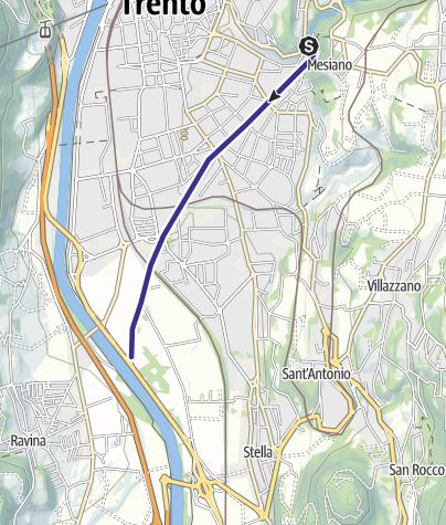 Karte / Torrente Fersina IK