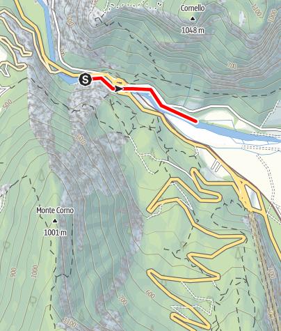 Map / Torrente Noce D1 alta