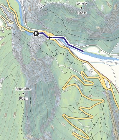 Karte / Torrente Noce D1 alta