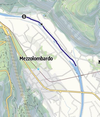 Mappa / Torrente Noce D1 bassa