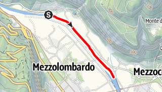 Map / Torrente Noce D1 bassa