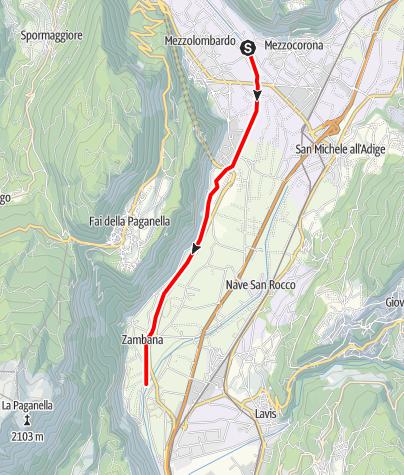 Map / Torrente Noce D2