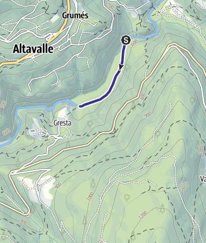 Mappa / Torrente Avisio CK1