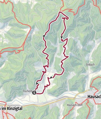 Karte / Rund um das schöne Waldsteiner Tal