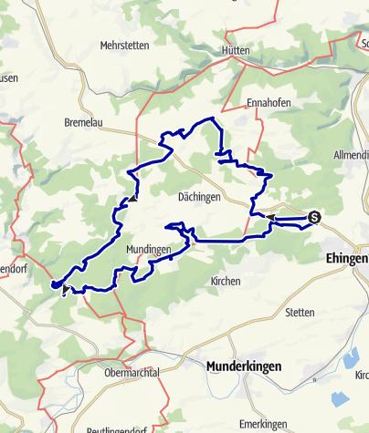 Karte / Besinnungsweg Wandererlebnis
