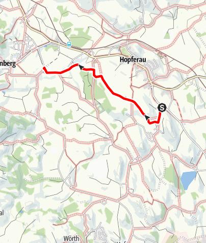 Karte / Allgäuer Bier-Käse-Wanderung