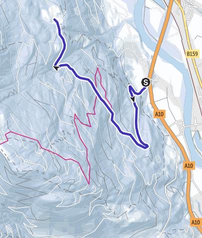 Karte / Rodelbahn Gschwandt