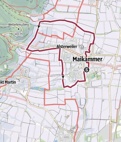 Karte / Maikammer-Erlebnisland/EXPO-Rundweg/Maikammer