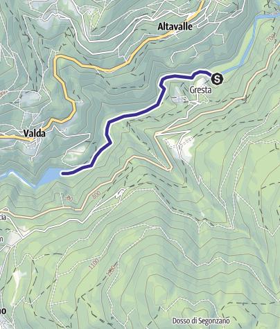 Karte / Torrente Avisio C1 media