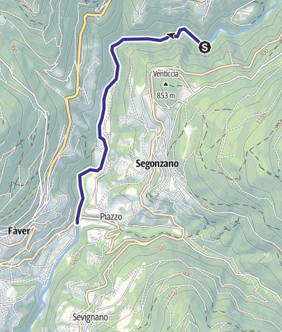 Map / Torrente Avisio C1 bassa
