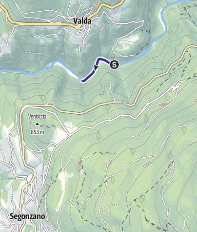 Map / Torrente Avisio CK1