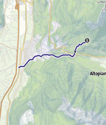 Map / Torrente Valsorda G
