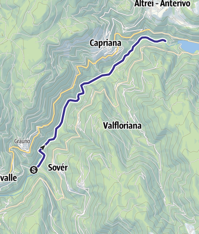 Map / Torrente Avisio C1 alta
