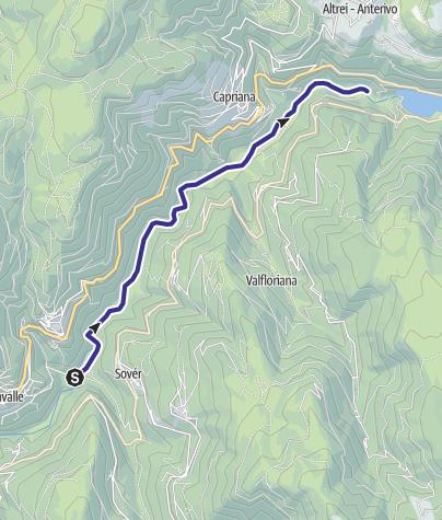Map / Torrente Avisio C1 alta