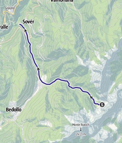 Karte / Rio Brusago