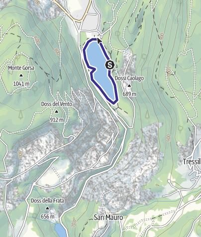 Mappa / Lago Lases