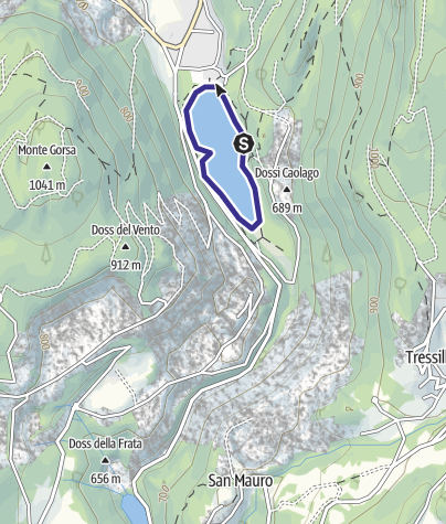 Karte / Lago Lases