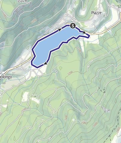 Karte / Lago Piazze