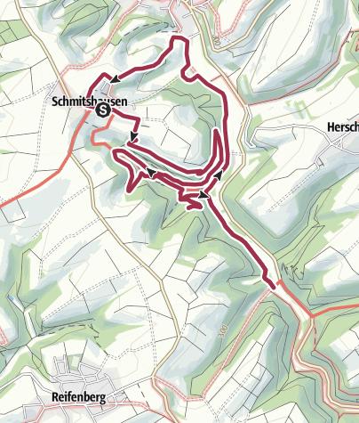 Karte / Gräfin-Sonja-Bernadotte-Weg