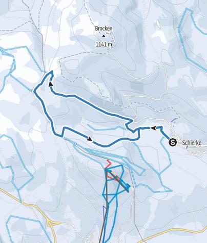 Karte / Königsbergloipe