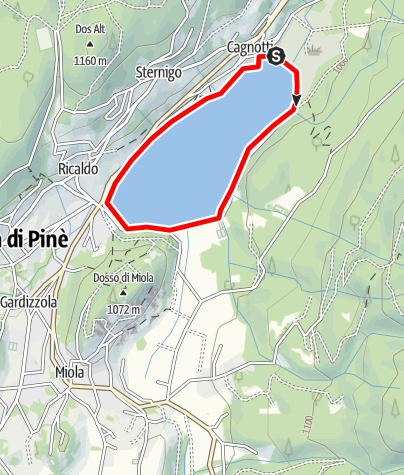 Map / Lago Serraia