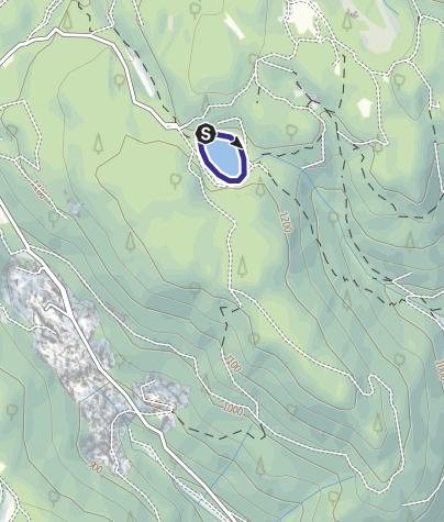 Map / Lago Santo Cembra L5