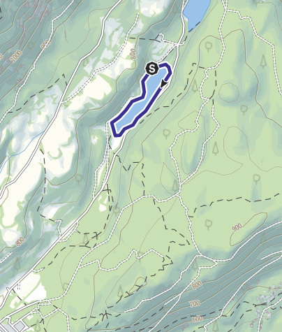 Cartina / Lago Santo di Lamar