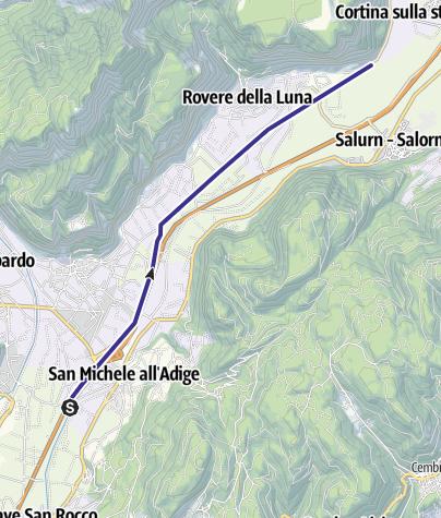 Karte / Fossa di Caldaro