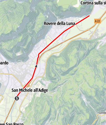 Map / Fossa di Caldaro