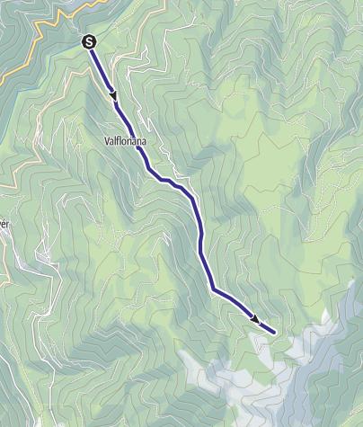 Karte / Rio Lungo - Seghe Q