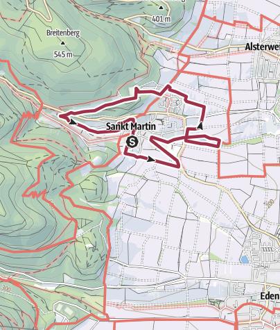 Karte / Maikammer-Erlebnisland/EXPO-Rundweg/St. Martin
