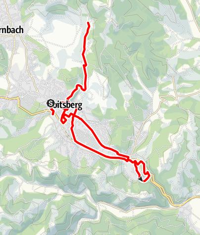 Karte / Historischer Stadtrundgang Voitsberg