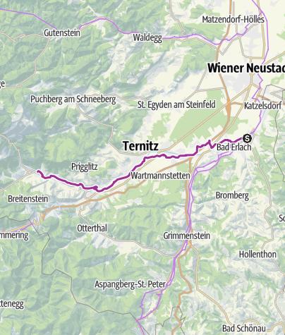 Map / Schwarzatal Radroute