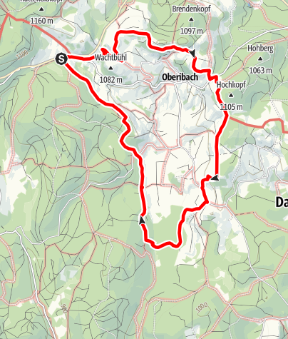 Map / Ibach: Panorama trail around the village