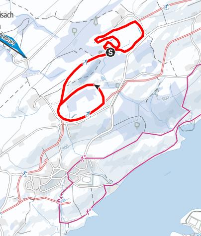 Karte / Skatingrunde des TSV Moosbach (S3)