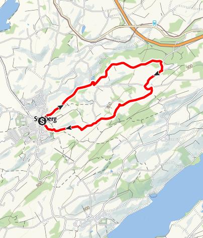 Karte / Jodbad-Runde-Nordic Walking