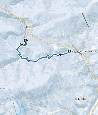Karte / Christmetten-Wanderung