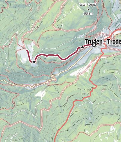 Map / Malga Cislon