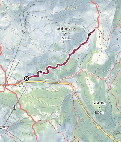 Cartina / Rifugio Fuciade