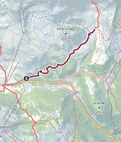 Mappa / Rifugio Fuciade