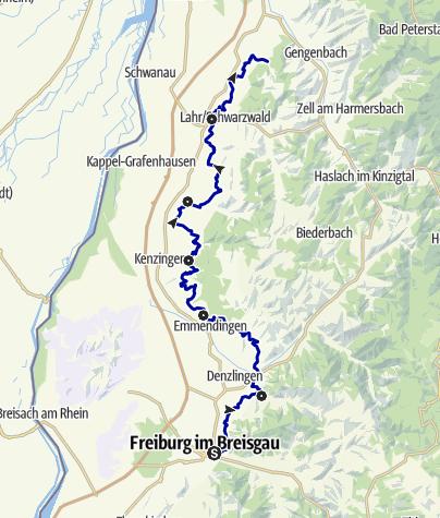 Karte / Breisgauer Weinweg