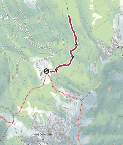 Map / Malga Dal Sass