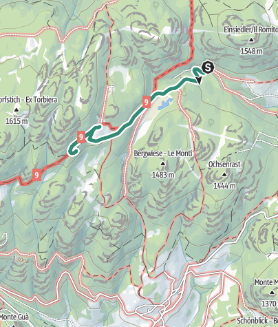 Map / Le Malghette