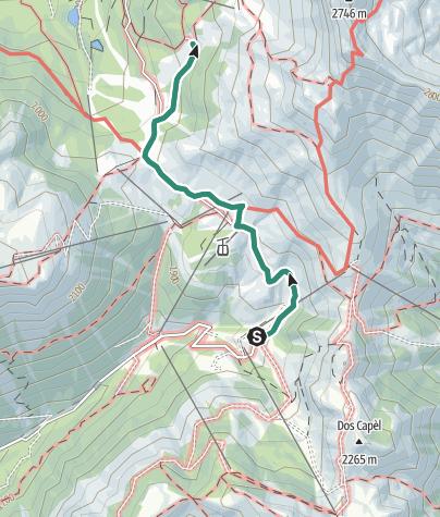 Map / Pampeago - Maieran