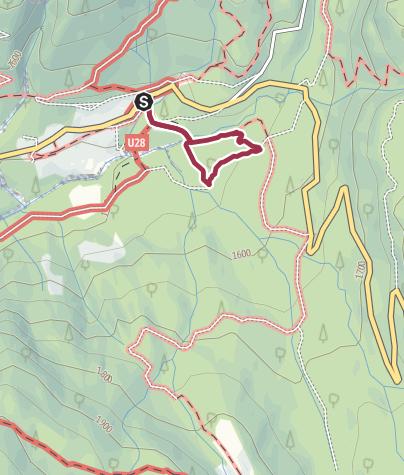 Map / Sentiero Marciò