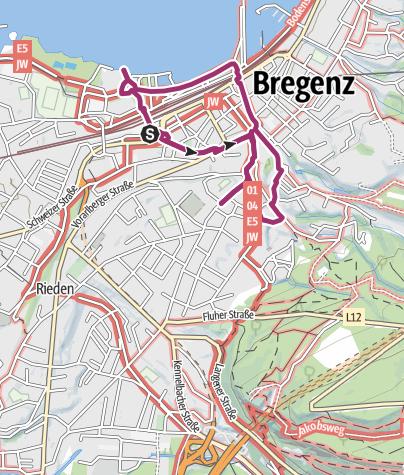 Bregenz Karte