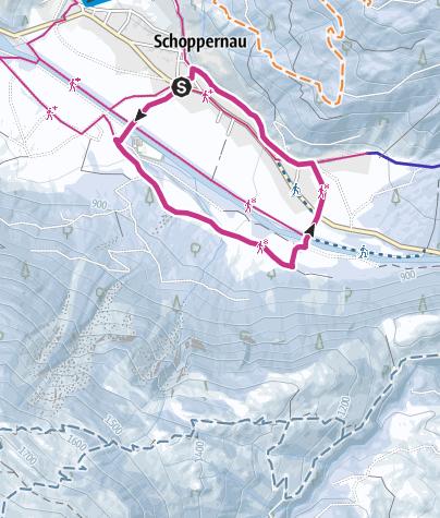 Map / Au-Schoppernau   Armengemach