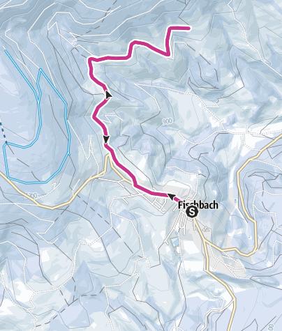 Karte / Fischbacher Winter-Höhenweg